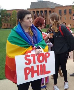 Bailey McDaniel, a junior at Mississippi State University, is president of the school's LGBTQ+ Union. (Photo courtesy of Bailey McDaniel)