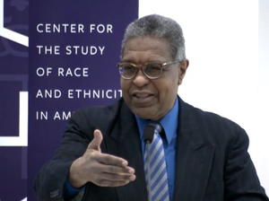 Dr. William A. Darity is primary investigator for the report and the Samuel DuBois Cook Professor of Public Policy at Duke University