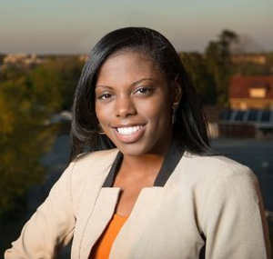 Jamari Green, a senior at Claflin University, credits the Koch scholarship with enabling her to pursue her entrepreneurial dreams.