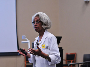 Dr. Barbara Ross-Lee (Photo courtesy of NYIT)