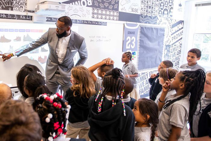 Lebron Adds To Education Support Opens Public School Higher Education
