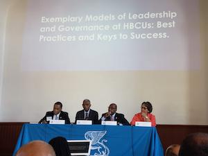 The Boule University Forum Panel