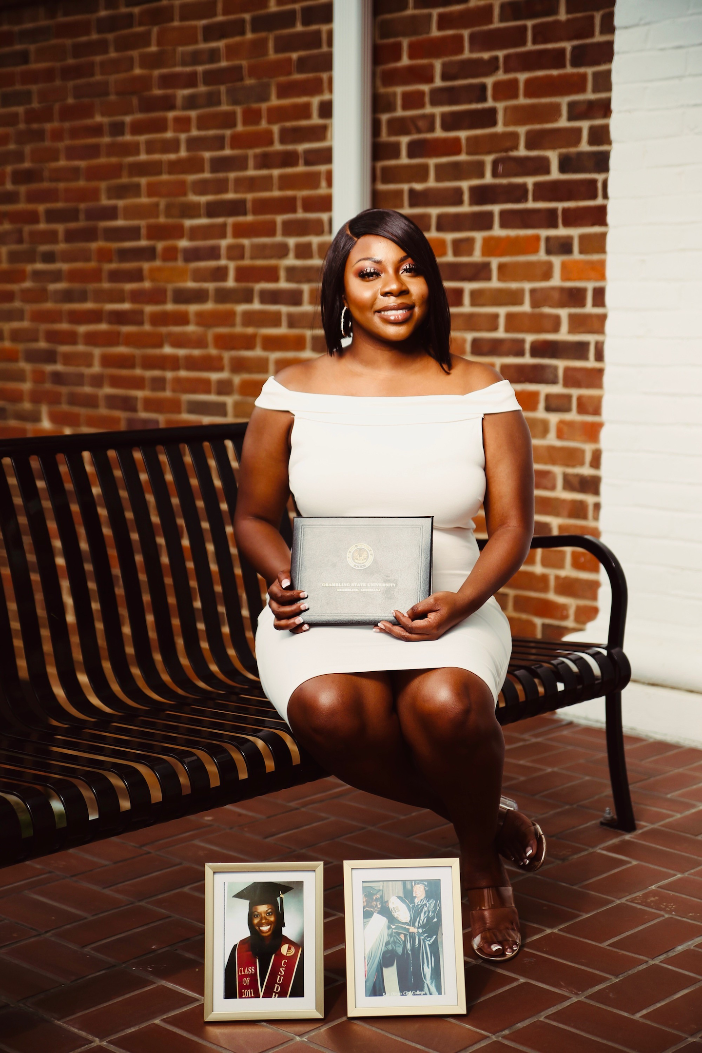 Ayeisha Gipson earned an associate degree from San Diego City College and a bachelor's degree from Grambling State University. Gipson will begin studying for her master's degree at Teacher's College of Columbia University this fall.