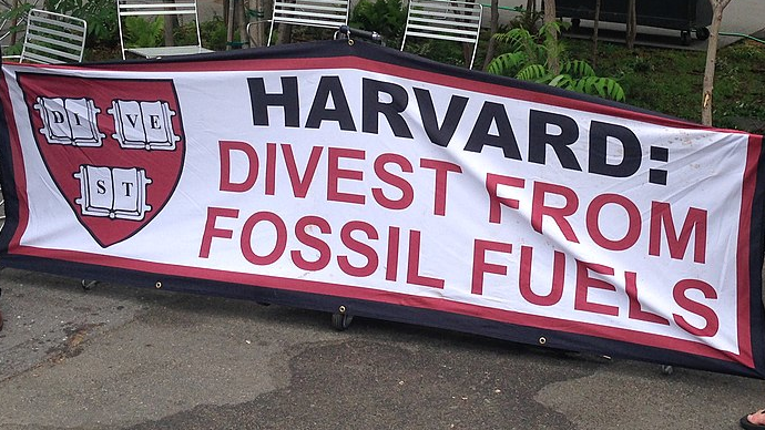Harvard Fossil Fuel Divestment Petition