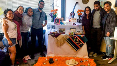 Students in the Latin American and Latino Studies doctoral program.