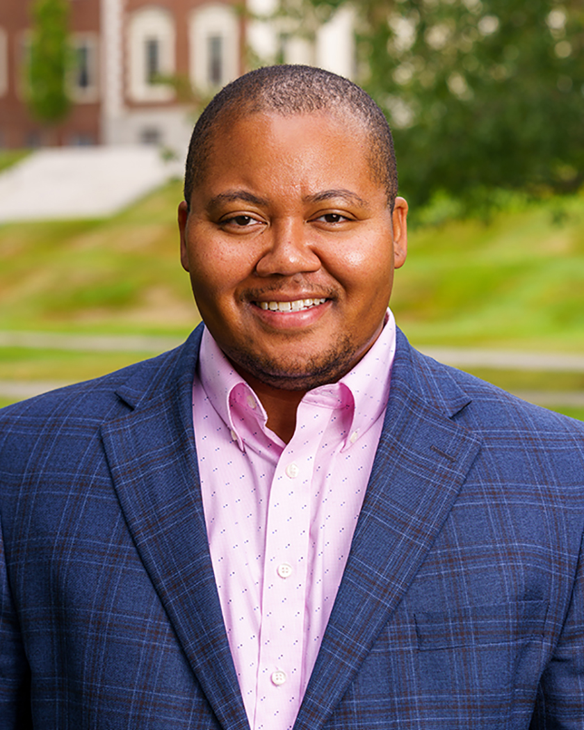 Dr. Tayo Clyburn, dean of diversity, equity, and inclusion at Colby College